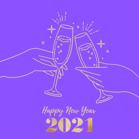 A Happy New Year.2021